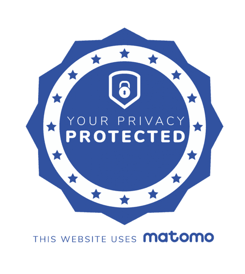 Your privacy protected! This website uses Matomo.